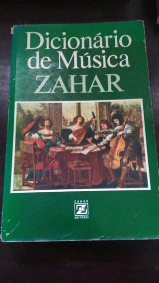 Dicionário De Música - Zahar Editores - Frete Modico