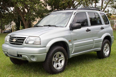 Chevrolet Tracker 2.0 16v 4x4 2008 Gasolina Prata Muito Nova