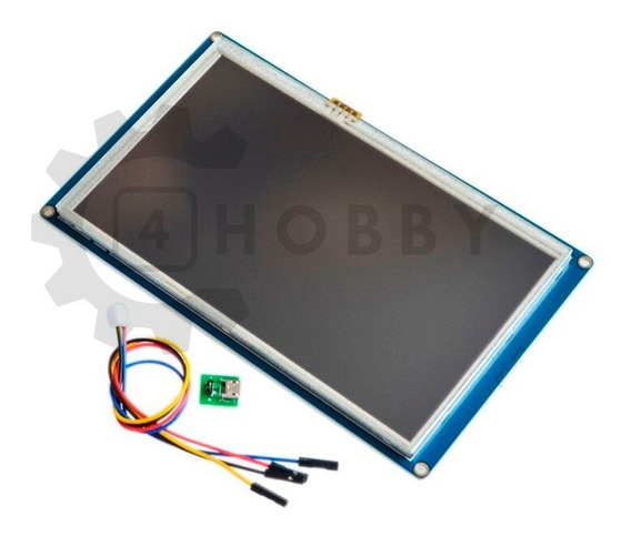 Tela Lcd Nextion 7 Pol. Touch Arduino Raspberry *100306