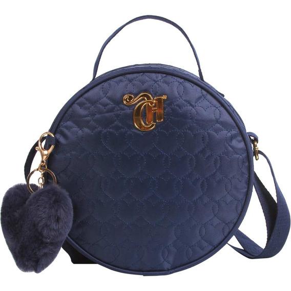 Bolsa Capricho Love Azul Linda 11342 - Dmw