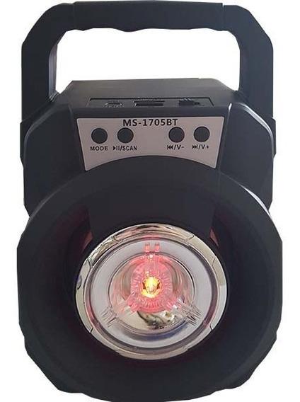 Caixa De Som Mobile Speaker System Com Bluetooth Ms-1705bt