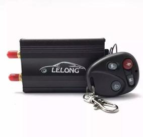 Rastreador Veicular Gps Le-03134 Lelong + Controle Remoto