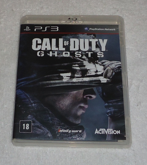 Call Of Duty Ghosts Ps3 Portugues ** Frete Gratis Leia