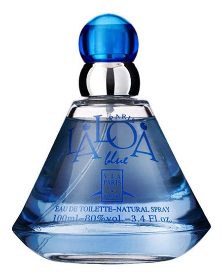 Via Paris Perfume Feminino Laloa Blue - Edt 100ml Blz