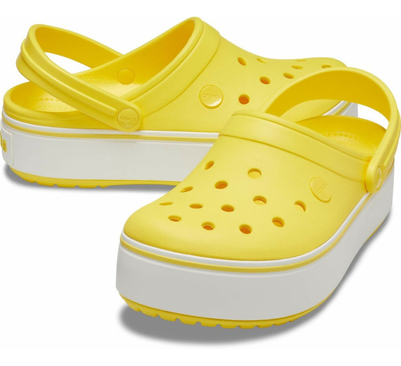 Crocs Crocband Platform Clog- Envio Gratis! Consultar Antes