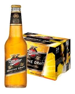 Cerveza Porron Miller X330cc Pack X24 Unidades