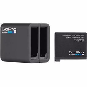 Bateria E Carregador Duplo Original Gopro Hero4 -