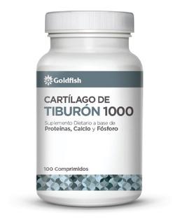 Cartilago De Tiburon 1000 Mg. Con Calcio Goldfish X 100 Caps