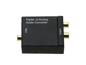 Conversor De Audio Digital Para Analogico - Coaxial P/ Rca