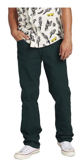 Pantalon Volcom Hombre Skate Vsm Gritter Chino Recto Moderno