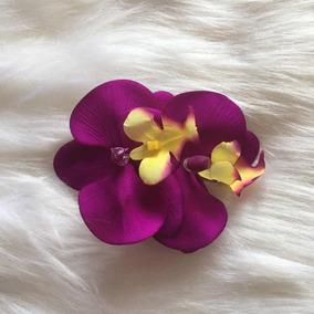 Arranjo P/ Cabelo Pente Orquídea Festa Casamento Ensaio