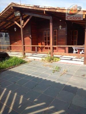 Casa Com 2 Dormitórios Para Alugar, 170 M² Por R$ 1.200/mês - Cibratel Ii - Itanhaém/sp - Ca0611