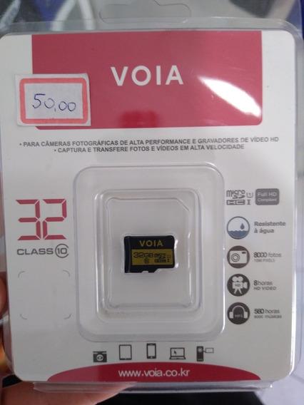Cartão De Memória 32gb - Voia - Celular E Tablet