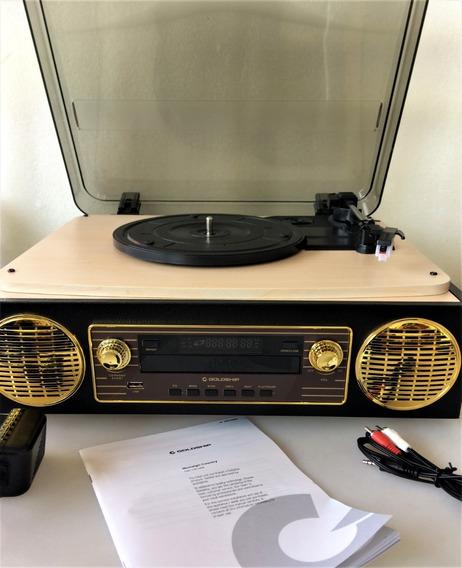 Vitrola Goldship Nostalgic Country Cxr-1498 - Bluetooth