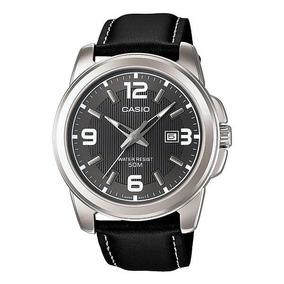 Reloj Casio Modelo Mtp - 1314 Piel Negra