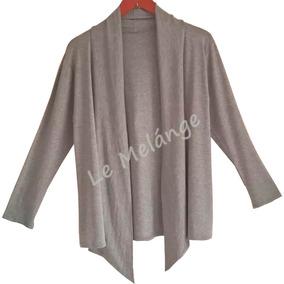 Blusa De Frio Roupa Feminina Plus Size Capa Kimono Casaco Gg