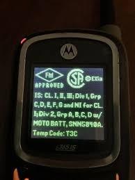 Radio Nextel I365is Con Sello Verde Fm Aproved Tapa Naranja
