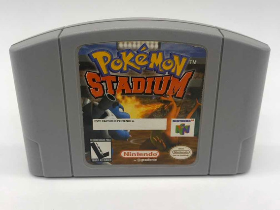 Pokemon Stadium Gradiente Nintendo 64 N64 Original