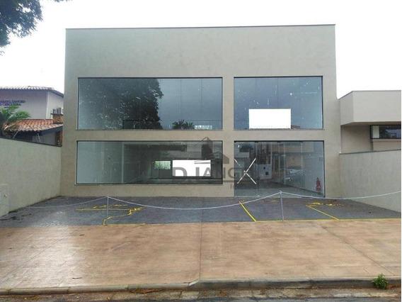 Salão Para Alugar, 489 M² Por R$ 20.000,00/mês - Nova Campinas - Campinas/sp - Sl0769