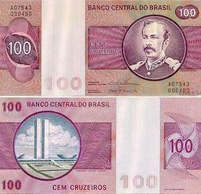 Cédulas Raras Cruzeiros Novas Sem Amassado Num Em Sequencia