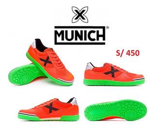 Zapatillas Para Futsal Munich Nuevas Originales