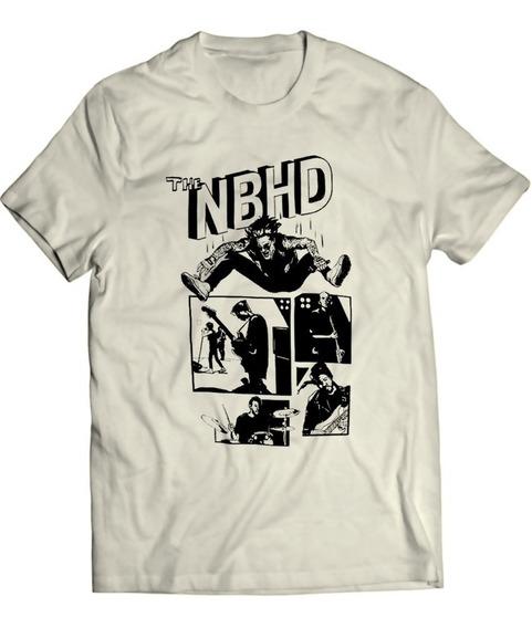 The Neighbourhood - Nbhd Cartoon - Camiseta 100% Algodão