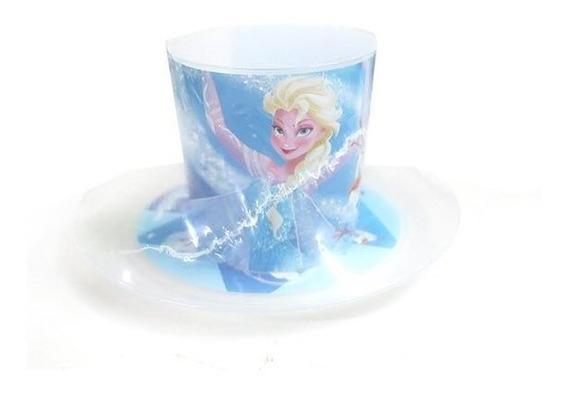 Combo Set Desayuno Plato Taza Platico Frozen Elsa Ice