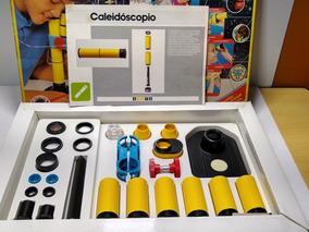 Polyopticon Kit Optico 10 Lupa Luneta Caleidoscopio Ler Anu