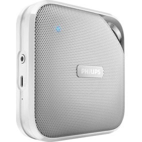 Caixa Som Bluetooth Com Microfone Branco Philips Bt2500w00