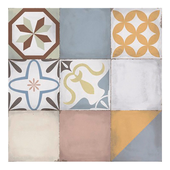 Ceramica De Piso Mosaico Vecchio 51x51 1ra Calidad Alberdi