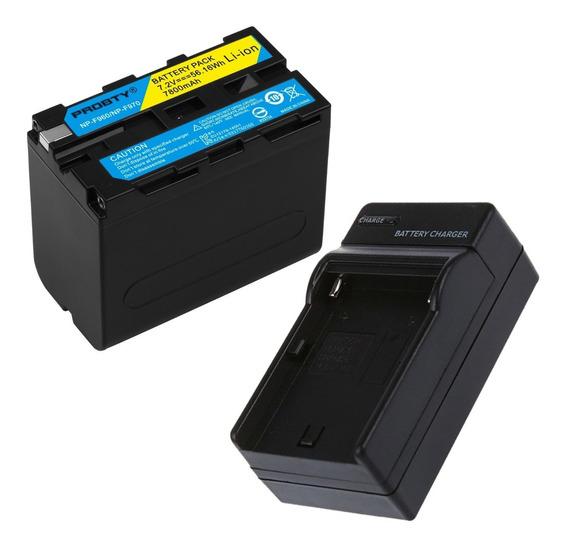 Bateria Np-f970 + Carregador