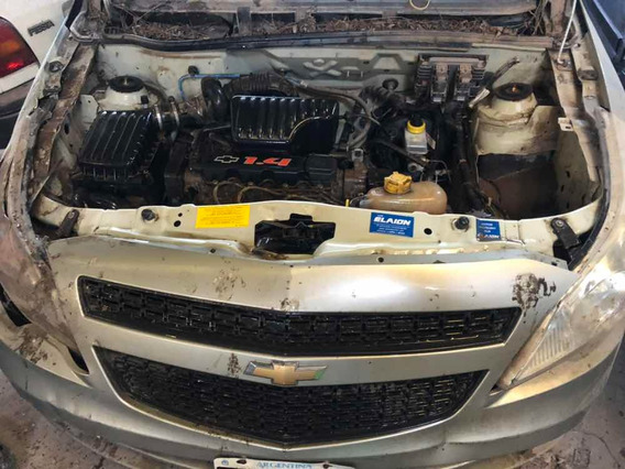 Chevrolet Agile Lt 1.4 Dado De Baja Chocado Valido De Alta M
