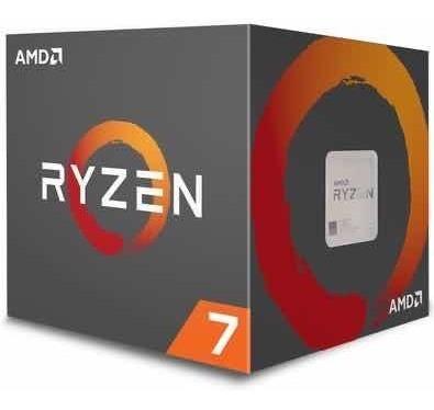 Processador Amd Ryzen 7 2700x Semi Novo Com Wraith Prism
