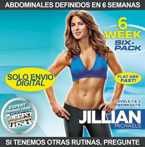 Jillian Michaels 6 Semanas 6 Pack Fitness Sin Pesas En Casa