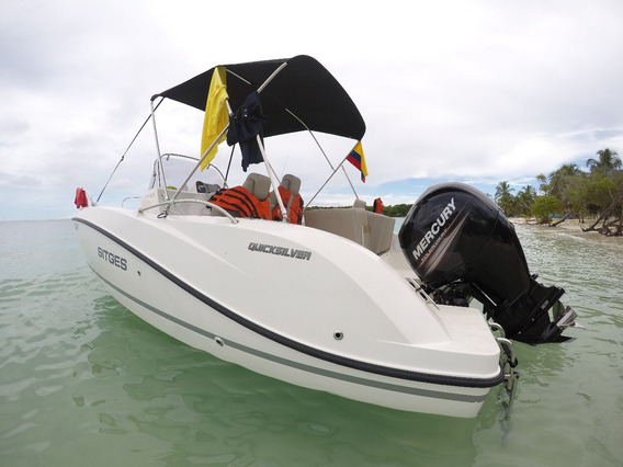 Bote Quick Silver 605 Open Deck 2016 (21 Pies) Boat Lancha