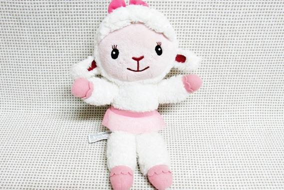 Pelucia Doutora Brinquedo Ovelha Lambie Disney 27 Cm Bau16