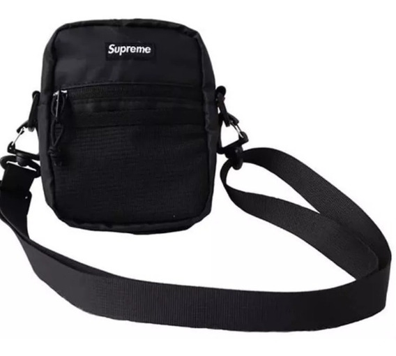 Shoulder Bag Supreme Com Adesivo Gratis - Promocao Limitada