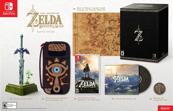 The Legend Of Zelda Breath Of The Wild Master Edition