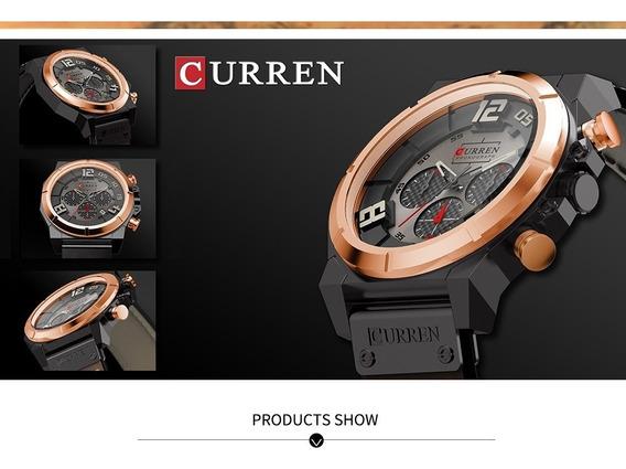 Curren 8287 Marca De Topo Relógios Homens Do Cronógrafo
