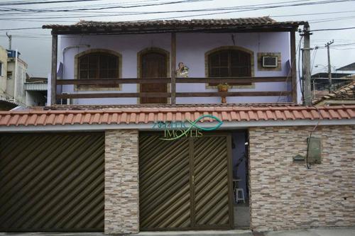 Casa Com 3 Dormitórios À Venda, 272 M² Por R$ 650.000,00 - Irajá - Rio De Janeiro/rj - Ca0397