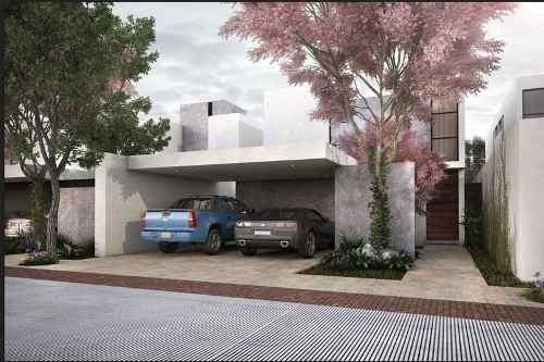 Casa En Venta Merida Conkal Arborea Mod. A 133-135