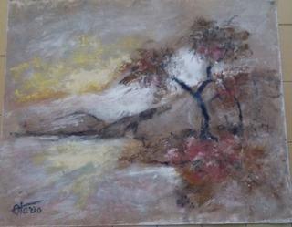 Obra La Cascada Del Maestro Antonio Otazzo