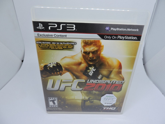 Ufc Undisputed 2010 P/ Ps3