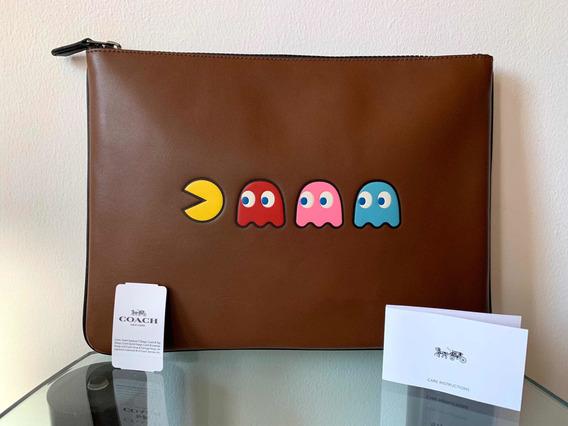 Bolso De Mano Coach Edición Pacman.