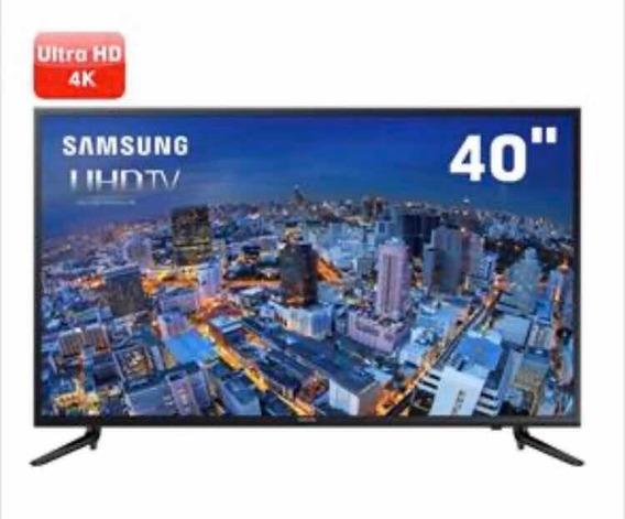 Smart Tv Led 4k 40 Samsung 40ju6000