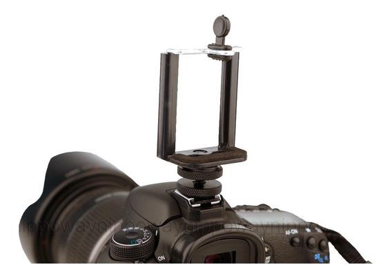 Suporte Celular Smartphone Camera Dlsr Adaptador