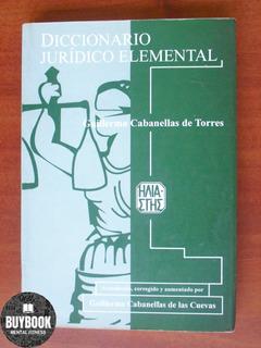 Diccionario Juridico Elemental Por Guillermo Cabanellas De T