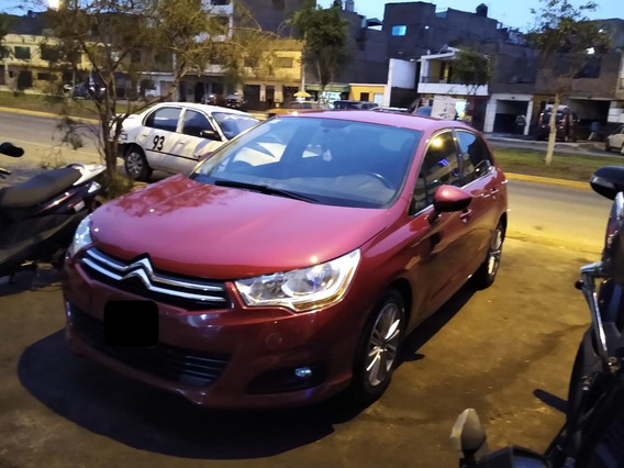 Citroen 2012 Color Rojo - Único Dueño
