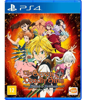The Seven Deadly Sins Britannia Ps4 Juego Original Fisico