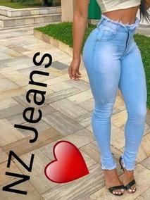 Calça Jeans 3% Lycra Tamanho 36 Ao 44